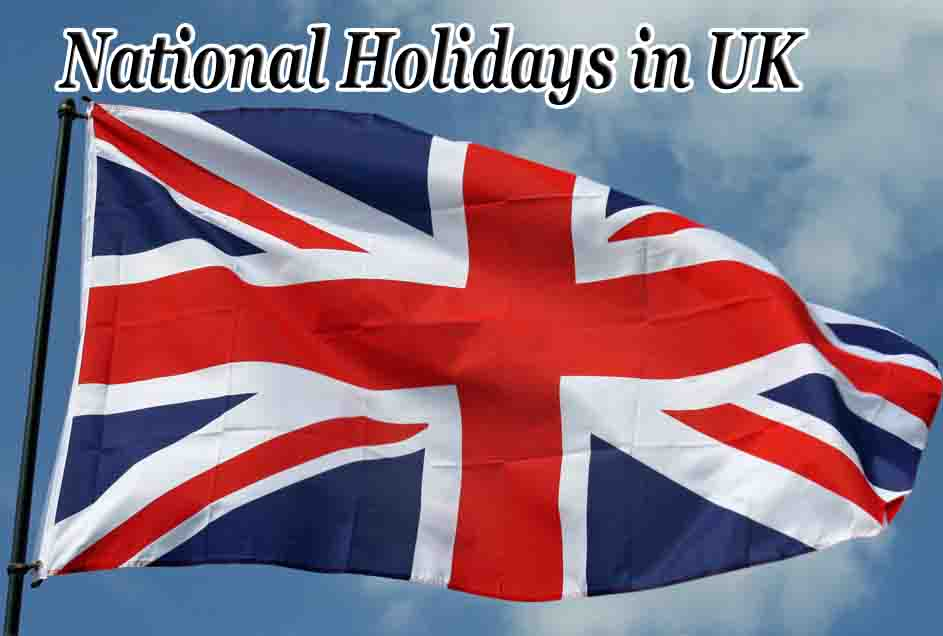 National holidays in uk