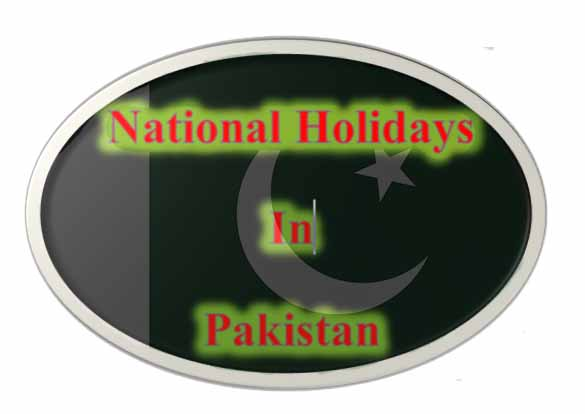 National Holidays in Pakistan
