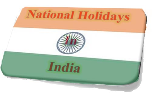 National Holidays in India