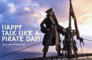 National Talk Like a Pirate Day september 19 krisy kerene