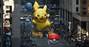The Macy's Thanksgiving Day Parade in the new your city