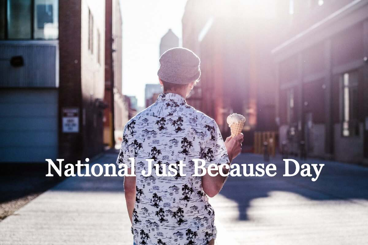 national just because day 2020