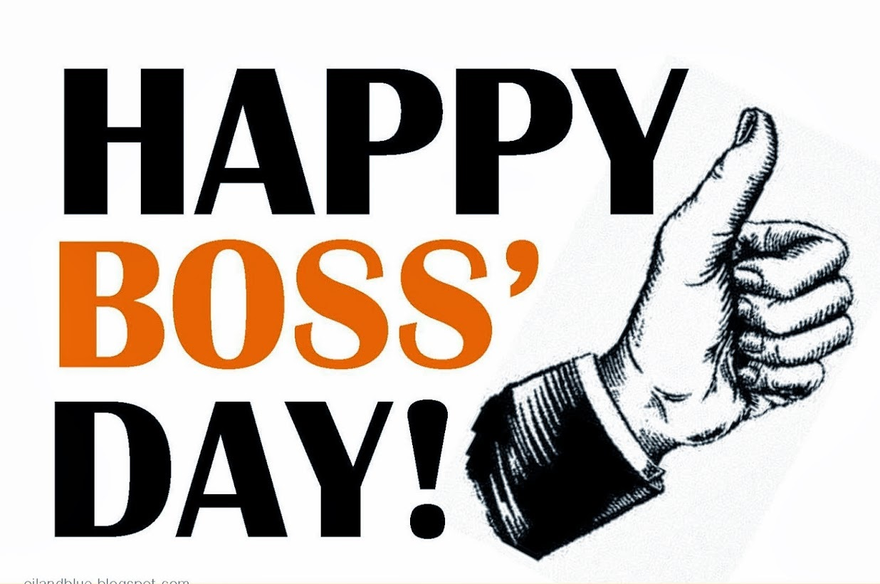 NATIONAL BOSS'S DAY 2021