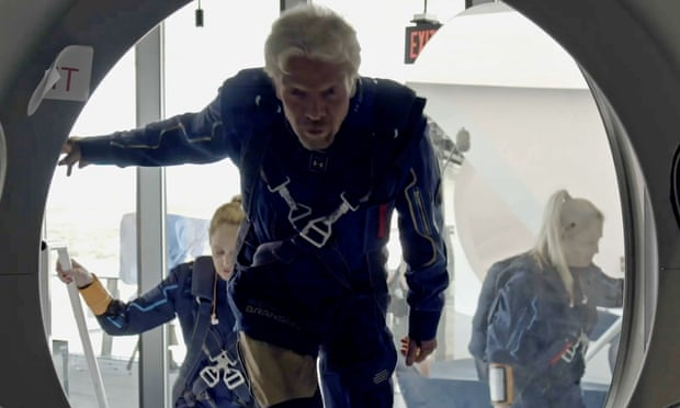 Richard Branson on board a Virgin Galactic Space Plane will be launched in next few hours July 11